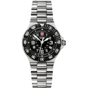 Victorinox Swiss Army Women's 'Summit XLT' Stainless Steel Black Dial Watch