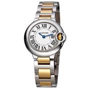 Cartier Women's W69007Z3 'Ballon Bleu' 18k Gold Two-Tone Stainless steel Watch