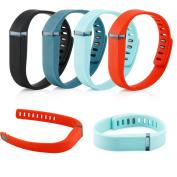 Gearonic Replacement Smart Wrist TPU Case for FITBIT FLEX Bracelet Devices