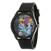 My Little Pony Girls Watch / Black Case and Black Silicone Strap