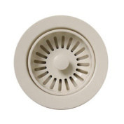 Whitehaus Collection 8.9cm Basket Strainer For Deep Fireclay Application-Biscuit-RNW50L-BI