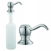 Chrome Kitchen Sink Faucet Soap Pump Dispenser