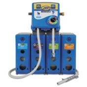 Advantage+ 4/1 Wall Mount Dispensing System, Blue,Plastic/Metal,19.5x6