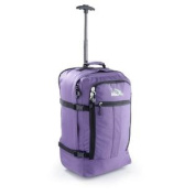 Cabin Max Lyon Flight Approved Bag Wheeled Hand Luggage - Carry on Trolley Backpack