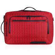 Incipio Weekender Nylon Travel Bag - Red Checked