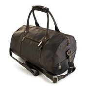Visconti 16152 Large Quality Leather Travel Duffel Bag