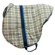 HS1102 Lined Saddle Bag Horsemans Plaid