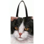 Fiddler's Elbow Black & White Cat Tote