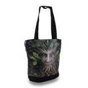 Anne Stokes Oak King Canvas and Vinyl Tote Bag