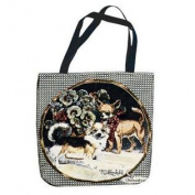(Price/EACH)Simply Home Chihuahua Tote Bag