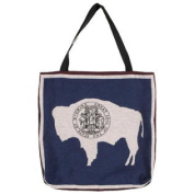 (Price/EACH)Simply Home Flag Of Wyoming Tapestry Tote Bag