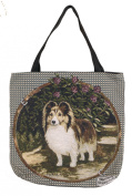 (Price/EACH)Simply Home Tote Bag - Shetland Sheepdog