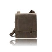 Visconti JAKE - Single Lock Flapover Leather Messenger Bag - Hunter 16092