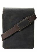 Visconti 18563 Distressed Leather Messenger Shoulder Bag