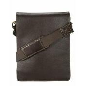 Visconti Mocha Brown 18563 Distressed Leather Fashion Messenger Bag