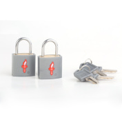 TSA-Approved padlocks - Double-set - Accepted for International Use