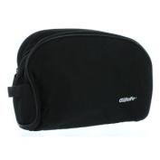 Black Gillette Men's Travel Bag Toiletry Shave Case Bag Dopp Kit