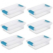 Sterilite Small Clip Box (6 Pack)   19618606