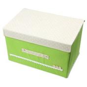 Green Foldable Makeup Cosmetic Storage Box Underwear Socks Holder Organiser