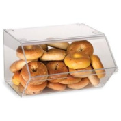 Displays2go Pastry Display Case for Bagels, Clear