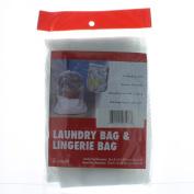 Laundry Bag & Lingerie Bag 2 Sets Mesh Wash Delicate Clothes Hosiery Bra Socks