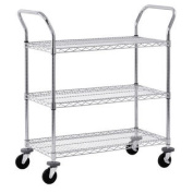3-Level Mobile Wire Cart
