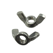 8 mm X 1.25-Pitch Stainless Steel Metric Wing Nuts