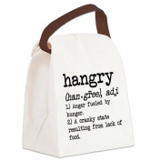 CafePress Canvas Lunch Bag - Hangry