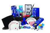 Ideal 100-Trick Spectacular Magic Show Suitcase, Kid Toy
