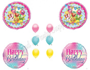 SHOPKINS Girly BIRTHDAY PARTY Balloons Decorations Supplies Cupcake Cookie
