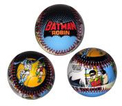 Batman and Robin Fighting Crime DC Comics Comic Strip Designed Baseball