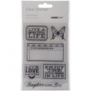 Kaisercraft Rustic Harmony Clear Stamps, 16cm by 10cm
