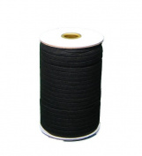 Braided Elastic 1cm Wide 144 Yards - Black