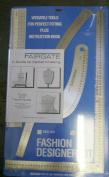 Fairgate Fashion Designer Rule Kit in Cm (15-202) by Fairgate