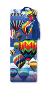 Dimension 9 3D Lenticular Bookmark with Tassel, Hot Air Balloon Festival