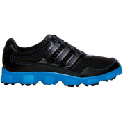 Adidas Men's Crossflex Sport Black/ Black/ Solar Blue Golf Shoes
