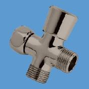 Shower Arm Diverter Satin Nickel Valve Push / Pull | Renovator's Supply