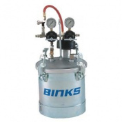 (Price/EACH)Binks 83C-221 Code Pt 2.7G, 2Reg, W/ Agit Pres Tank