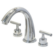 Elements of Design ES2361CML Two Handle Roman Tub Filler, Polished Chrome Finish