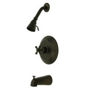 Elements of Design EB2635BX Single Handle Tub and Shower Faucet, Oil Rubbed Bronze