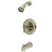 Elements of Design EB6638CML Single Handle Shower Faucet, Satin Nickel Finish