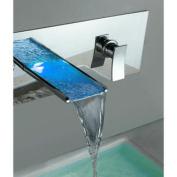 Single Handle Wall Mount Tub Faucet