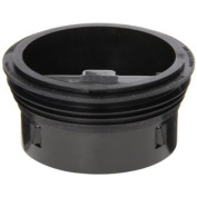 SureSeal SS3000 7.6cm Floor Drain Trap Sealer, Black, 1-Pack
