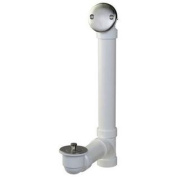 Keeney K650PVCDSBN Roller Ball Style Bath Drain Kit with Schedule 40 PVC Tubing, Brushed Nickel