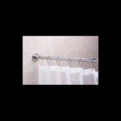 Shower Curtain Rod Bright Chrome 1.5m Long | Renovator's Supply