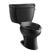 Wellworth Classic Pressure Lite Elongated 1.4 Gpf Toilet with Right-Hand Trip Lever, Less Seat Finish