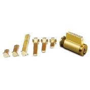 NEW Global Door Controls Universal Cylinder 5-Pin Schlage with 6 Tail Pieces