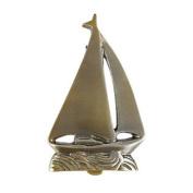 Solid Brass Sailboat Door Knocker Nautical