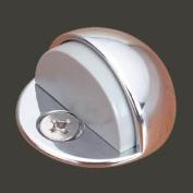 Brass Door Stop Dome Floor Mount Bumper Chrome | Renovator's Supply