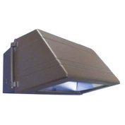 WESTGATE Wall Pack, Mh 150W, Pulse Start, Quad-Tap, Glass Lens, Bronze